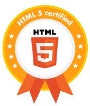 html5 certified