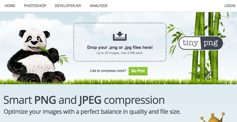 Optimize Images with Tiny Png for HTML5 Banners