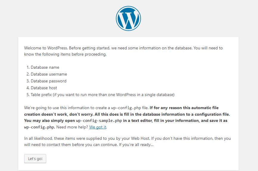 Database disclosure