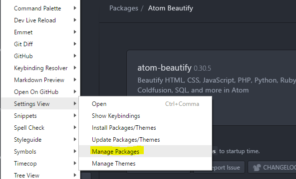 How to setup Atom for WordPress development  Atom Packages!